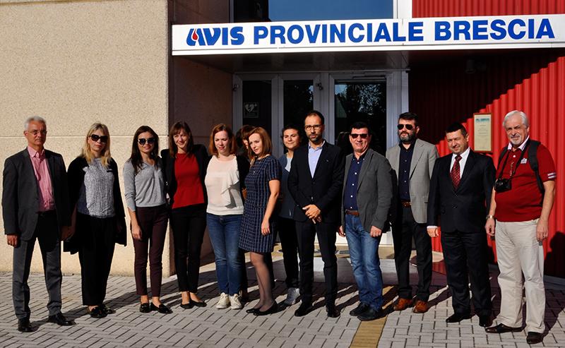 Dalla Moldavia per incontrare il Mondo Avis - Tappa Brescia