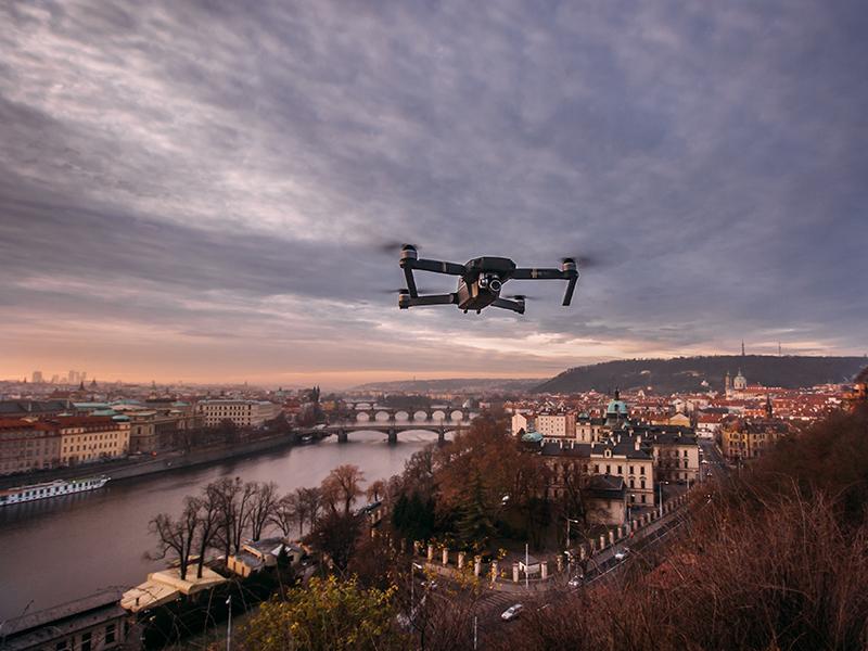 Il trasporto di sangue con l'utilizzo dei droni