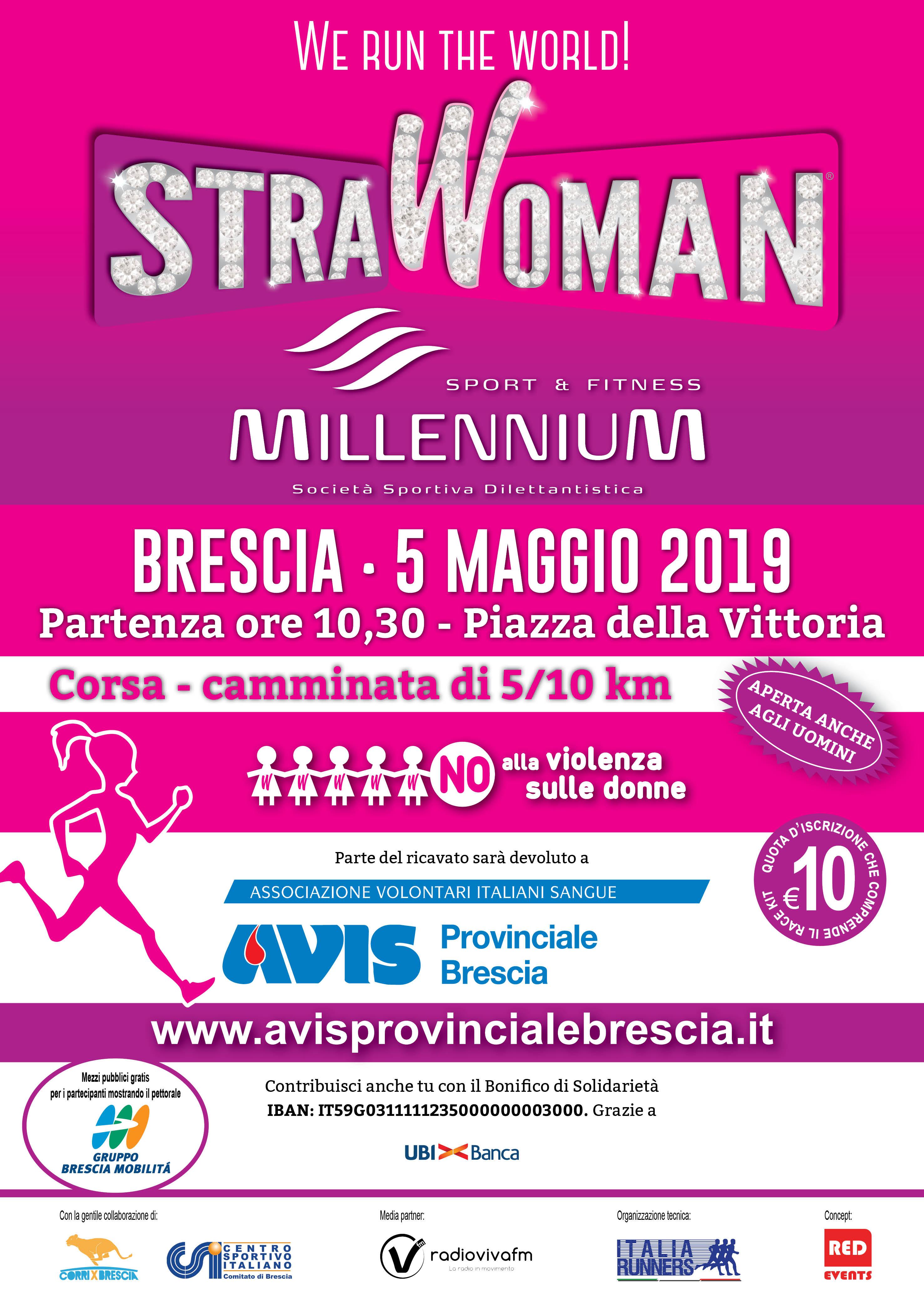 StraWoman supports Avis Provinciale Brescia
