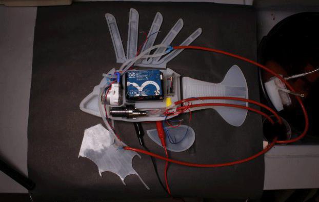 Il pesce-robot con sangue sintetico