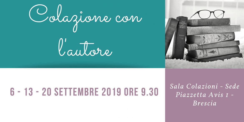 Colazione con l'autore, l'evento di Avis Provinciale Brescia