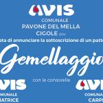Avis Pavone Mella-Cigole festeggia il gemellaggio con Amatrice e Carpi